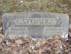 Joseph W Steider