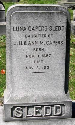 Luna Postal <I>Capers</I> Sledd