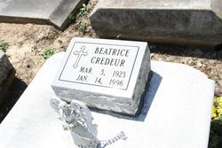 Beatrice <I>Simar</I> Credeur