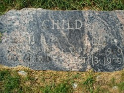 Benjamin Harrison Child