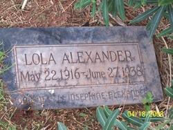 Lola Alexander