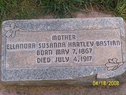 Ellanora Susanna <I>Hartley</I> Bastian