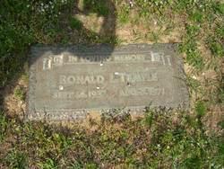 Ronald Lee <I>No</I> Temple