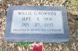 Willie Georgia Bownds