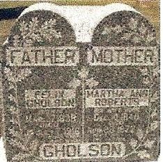 Martha Ann <I>Roberts</I> Gholson