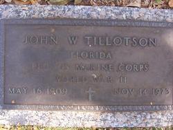 PFC John W Tillotson