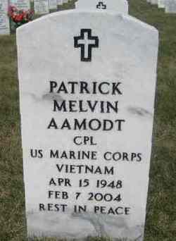 Corp Patrick Melvin Aamodt