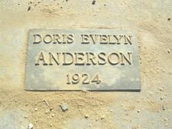 Doris Evelyn Anderson