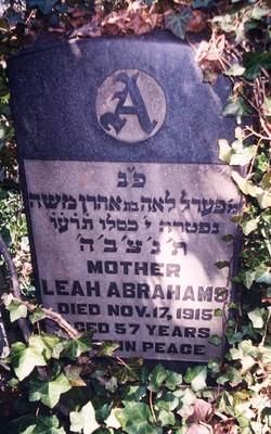 Leah <I>Horowitz</I> Abrahams