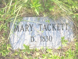 """Mary """"Polly"""" <I>Grace</I> Tackett"""