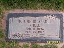 Agatha Walker <I>McAllister Sproul</I> Knell