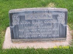 Lydia Ellen <I>Cooper</I> Larson