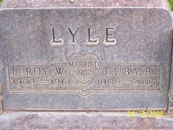 Leroy William Lyle