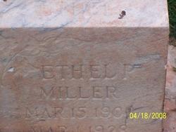 Ethel Lorene <I>Pectol</I> Miller