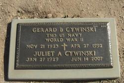 "Gerard B ""Jerry"" Cywinski"