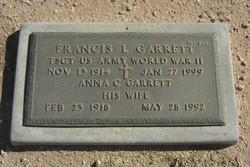 Francis L Garrett