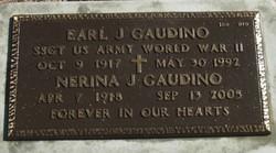 Earl J Gaudino