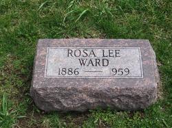 Rosa Lee <I>Morelock</I> Ward