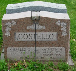 Kathryn Marie <I>Conway</I> Costello
