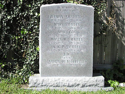 "Mary ""Polly"" <I>Smalley</I> Cox"