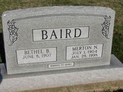 Merton Nelson Baird