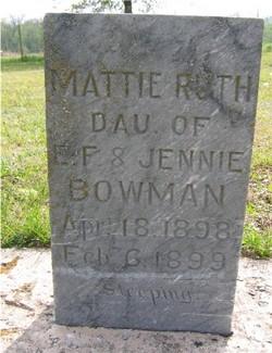 Mattie Ruth Bowman