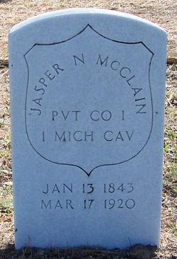 Pvt Jasper Newton McClain