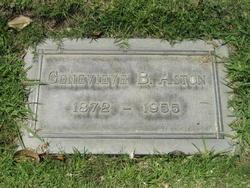 Harriett Genevieve <I>Bell</I> Aston