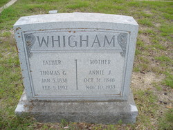 Annie Judson <I>Wallace</I> Whigham