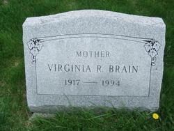 Virginia Ruth <I>DeBolt</I> Brain