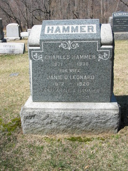 Janie O <I>Leonard</I> Hammer