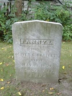 Fanny <I>Lamson</I> Bartlett