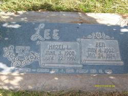 Hazel Langston Lee