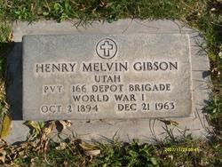 Henry Melvin Gibson