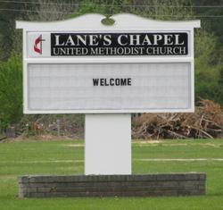 Lanes Chapel United Methodist Church Cemetery