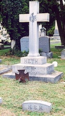 """Harriet Christiana """"Teny"""" <I>Selden</I> Heth"""