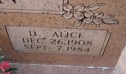 D. Alice Hilburn