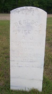 Mary Rebecca <I>Shaw</I> Formy-Duval