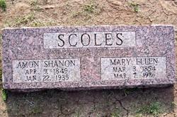 Mary Ellen <I>Barnes</I> Scoles