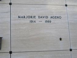 Marjorie David Ageno