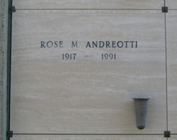 Rose M Andreotti