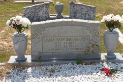 Emma <I>Saucier</I> Barton
