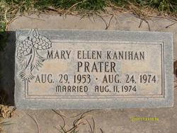 Mary Ellen <I>Kanihan</I> Prater