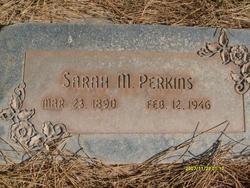 Sarah <I>Millett</I> Perkins