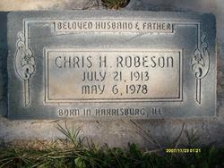 Christhopher H Robeson