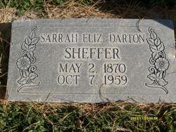 Sarah Elizabeth <I>Darton</I> Sheffer