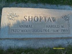 "Harold Maurice ""Slim"" Shoptaw"