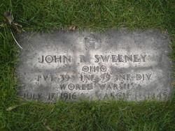 Pvt John R Sweeney