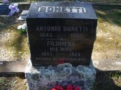 Filomena <I>Quanchi</I> Bonetti