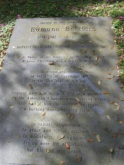 Rev Edmund Botsford